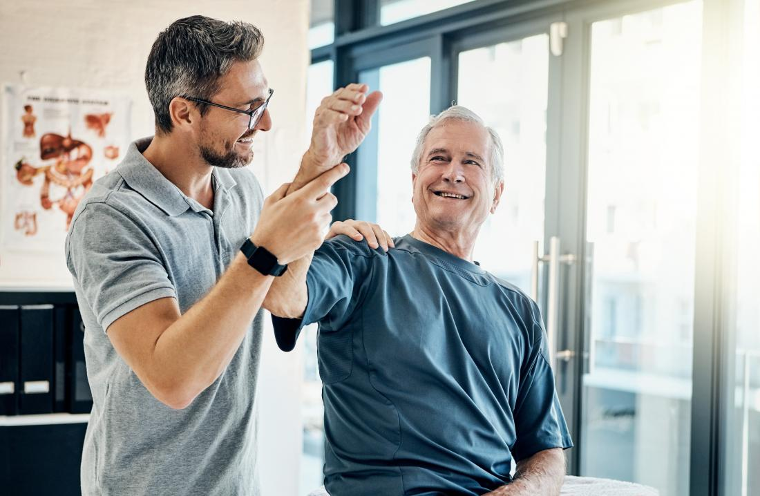 Use of physical therapy to ease arthritis pain and stiffness